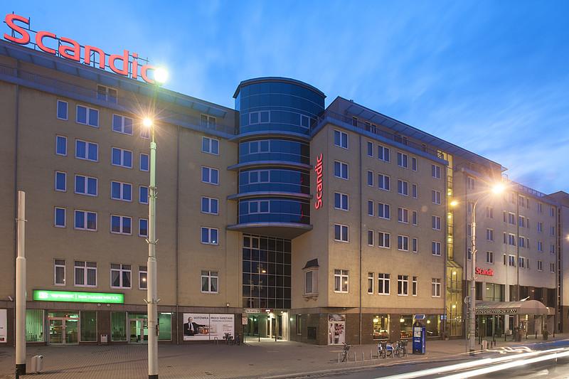 Hotel Scandic we Wrocławiu