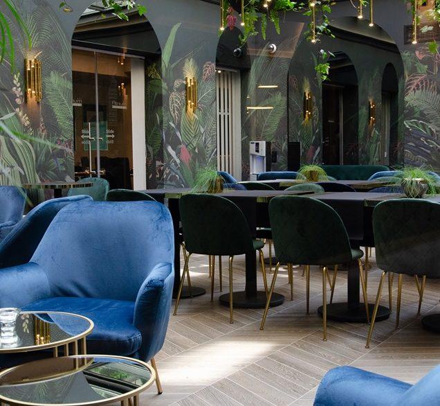 Hotel Atrium Sala patio