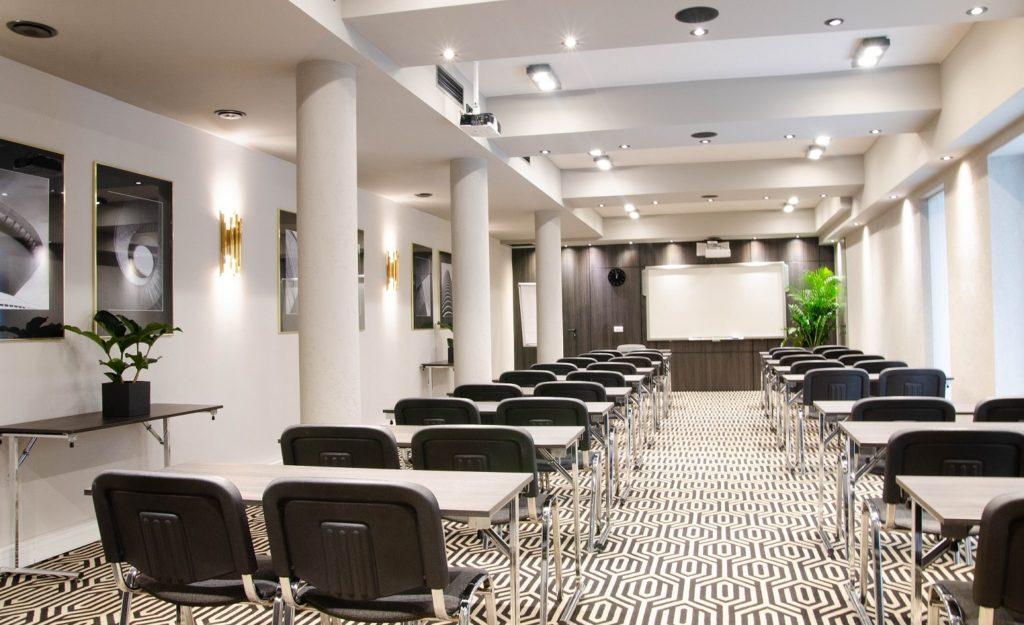 Hotel konferencyjny Kraków - sala konferencyjna